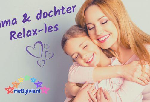 Mama en dochter Relax-les | 5 april 2020