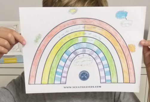 Schatgravers Regenboog ouder en kind online | 17 oktober 2020